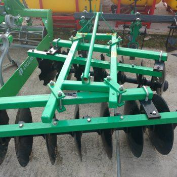 Disc VVM 1,5 M, 16 talere, 240 kg, putere necesara 25-40 cp