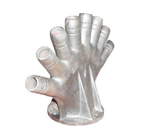 Corp absorbtie exhaustor SPC 6 (distribuitor aer manusa cu 8 degete)