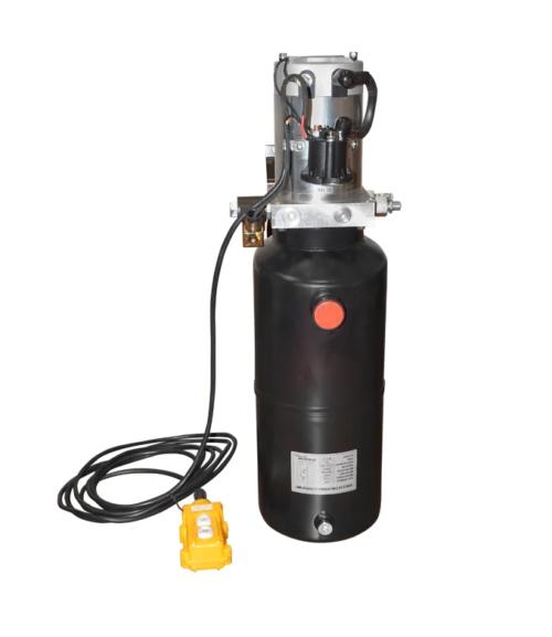 Pompa basculare 12V, 2,2kW cu rezervor metalic 10L si telecomanda 1